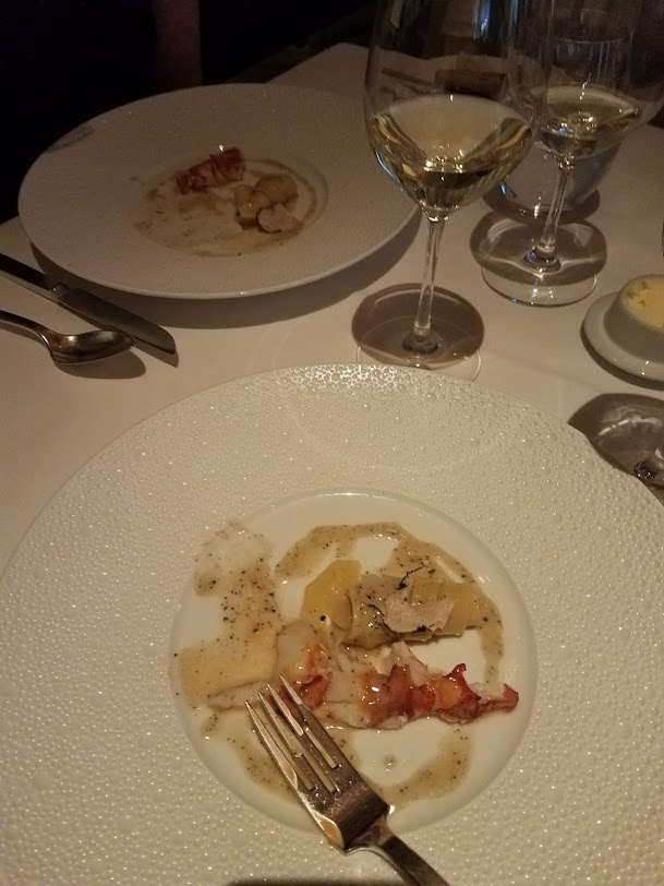 Lobster at Le Bernadin